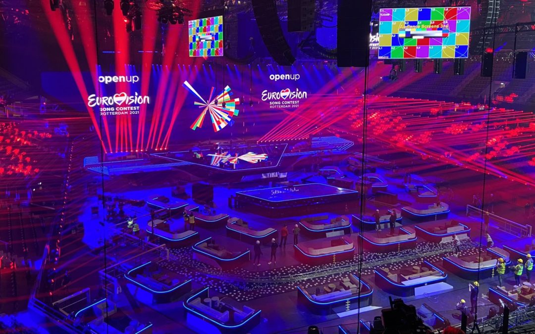 Eurovision 2021: The stage is set