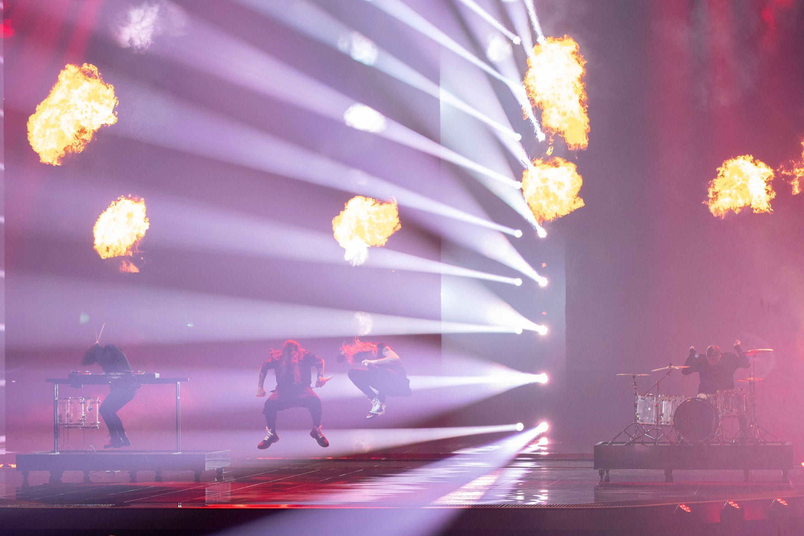 Finland 2nd rehearsal (EBU / Anders Putting)